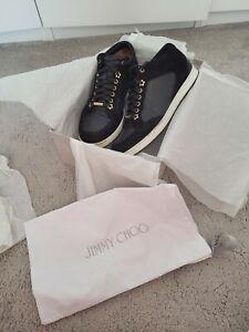 Jimmy Choo 'Miami' Trainers Black - Size UK 7