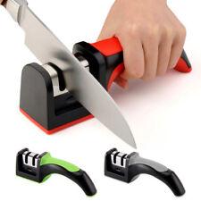 UK Heavy duty knife sharpner kitchen knives scissors blade sharp sharpener tool
