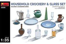 Miniart 35559 1/35 Household Crockery And Glass Set
