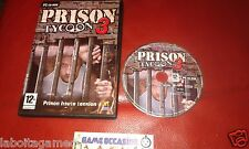 PRISON TYCOON 3 PC CD-ROM PAL