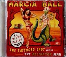 MARCIA BALL - TATTOOED LADY AND THE ALLIGATOR MAN - ALLIGATOR LBL - PROMO CD