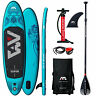 Aqua Marina Vapor SUP-Set Stand Up Paddle Inflatable Board ISUP Paddel Surf NEU