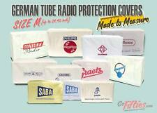 SizeM German Tube Radio Protection Cover SABA,Grundig,Philips,Graetz,Telefunken