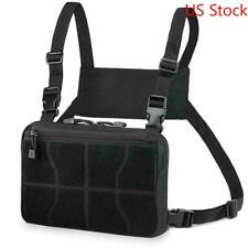 US Stock Tactical Chest Rig Shoulder Bag Waist Pack Chest Recon Bag Tools Pouch