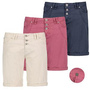 Sublevel Damen Shorts Bermuda Kurze Hose Short Chino Stretch Leicht Sommer