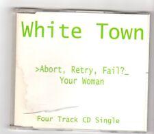 (HX176) White Town, Abort Retry Fail? EP - 1997 CD