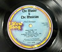 Phil Keaggy The Master and the Musician Vinyl Record 33 RPM LP NEW SONG 1978