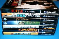 Lot of 7 TESTED Nintendo Gamecube Games Hunter The Reckoning, SSX, Lego Star War