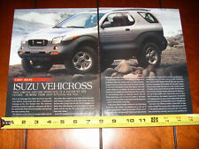 1999 ISUZU VEHICROSS - ORIGINAL  ARTICLE