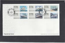 GB 2018 Post & Go Mail by Sea Royal Mail FDC Southampton special pmk