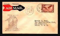 Canada 1939 FFC Ottawa to Toronto - Z17405