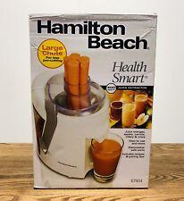 Hamilton Beach 400 Watt Juice Extractor Model 67804 ~New~