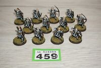 Warhammer LOTR - Lord Of The Rings Numenor Archers x 12 - Metal LOT 459