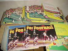1982-84 Topps Football Sticker Album Lot with Display Boxes (83 pieces)