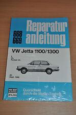 VW Jetta 1100 1300 L GL E ab September 1980 Handbuch Reparaturanleitung B668 OVP