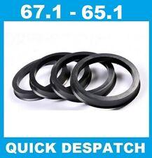 4 x 67.1 - 65.1 Cerchio in Lega Mozzo Anelli di Centraggio per Opel Omega 5