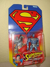 FIGURA SUPERMAN MAN OF STEEL DE KENNER AÑO 1996 NUEVO DC COMICS superhéroe