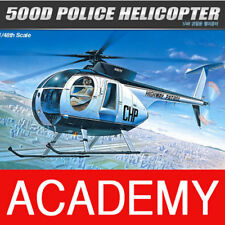 1/48 500D POLICE HELICOPTER #12249 ACADEMY PLASTIC MODEL KIT