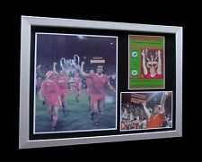 NOTTINGHAM FOREST 1979 EUROPEAN CUP FINAL LTD FRAMED+EXPRESS GLOBAL SHIPPING