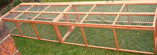 10FT CHICK HEN RUNS PEN CHICKENS POULTRY FOLDING 10'