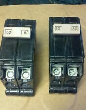 2 pole 60 amp ch style breaker you are buying two breakers