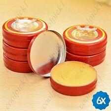 6pcs Tiger Head Menthol Balm Refreshing Pain Relief Headache Muscle Aches Oil