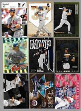 LOT OF 9 MIKE PIAZZA SERIAL NUMBERED INSERT CARDS