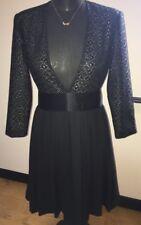 Women's By Malene Birger Dress. Black Lace. Unworn. Size 36 UK 10.