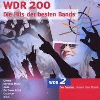 URIAH HEEP/ABBA/RAMONES/QUEEN/+ - WDR 200-DIE HITS DER BESTEN BANDS 2CD POP NEU