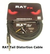 ProCo RAT TAIL 18 foot Distortion Cable Ships FREE to US Zips! MADE IN THE USA!