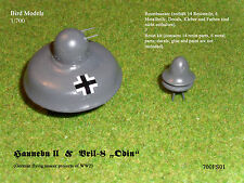 "Haunebu II & vril - 8 ""Odin"" 1/700 Bird MODELS resinbausatz/resin kit"