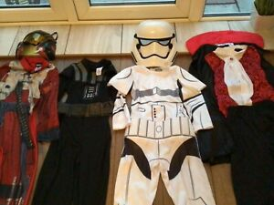 Boys Superhero Star Wars Halloween Dress Up Costume Bundle Outfit