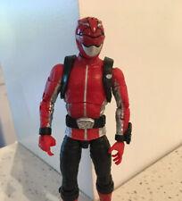 Power Rangers Lightning Collection Beast Morphers Red Ranger Figure From Hasbro