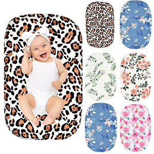 Newborn Baby Removable Lounger Slipcover Baby Washable Soft Lounger Slip Covers