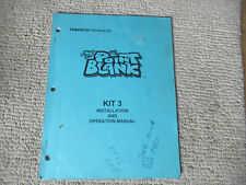 original POINT BLANK  KIT 3 NAMCO   arcade video game owners manual