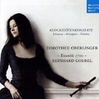 """DOROTHEE OBERLINGER """"BLÖCKFLÖTENKONZERTE"""" CD NEU"""