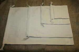 Baumwollsäckchen,Duftsack,Kräutersäckchen,mit Zugband,Lavendelsäckchen, 4 Größen