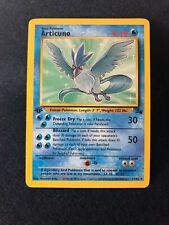 Articuno 17/62 First 1st Edition Non-Holo Pokemon Fossil Nm