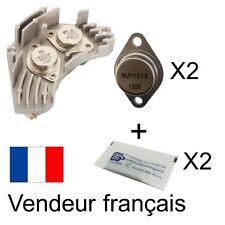 Kit de réparation pour pulseur d'air: 2 transistors + 2 sachets pâte thermique