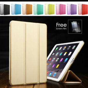 Smart Cover Magnetic Case for Apple ipad Mini 2/3/4 and Air 1/2 Free Postage