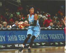 Brittney Sykes Signed 8 x 10 photo Wnba Basketball Atlanta Dream Free Shipping
