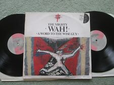 The Mighty Wah! With Ark Angels A Word To The Wise Guy BEGA54 Vinyl LP Album