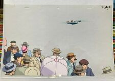 Porco Rosso original animation cel by Director Miyazaki Studio Ghibli!, Beach