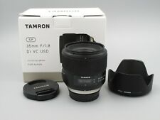 Tamron SP F012 35mm F/1.8 VC Di USD Lens For Nikon FX Full Frame F Mount
