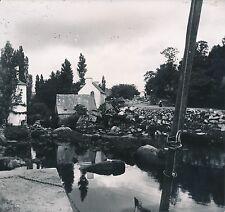 PONT AVEN c. 1900-20 - Maisons Rivière Bretonne  Finistère Div 7189