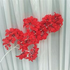 Artificial Silk Hydrangea Branch Drifting Snow Gypsophila Flowers Home Decor