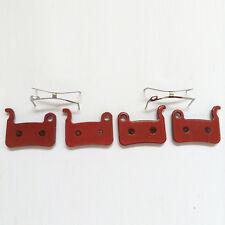 2 Pairs Semi-Metal Disc Brake Pads fit Shimano XTR BR M975 M966 M965 XT SLX LX