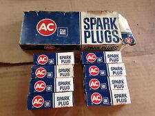 NOS -- Pack of 8 -- AC Spark Plug CR83T GM 5613553 Spark Plugs