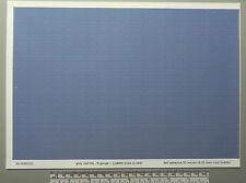 N gauge (1:160 scale) grey roof tile self adhesive vinyl - A4 sheet (297X210mm)