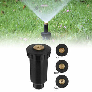 Grass Lawn Garden Pop Up 360°Sprinkle Spray Head Irrigation Watering System Tool